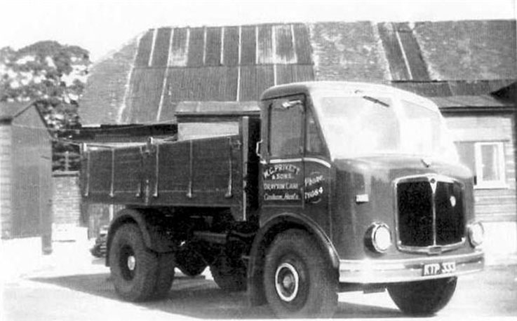 1955-1961 AEC » Mercury MkII ( моdel GM4RA ) with Park Royal a