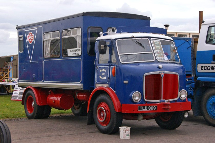 1955-1961 AEC » Mercury MkII ( моdel GM4RA ) with Park Royal c