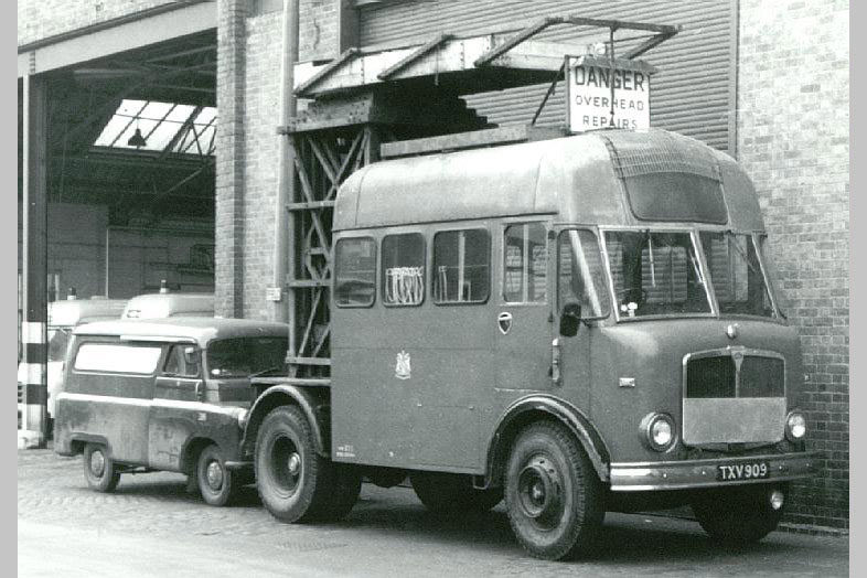1955-1961 AEC » Mercury MkII ( моdel GM4RA ) with Park Royal d