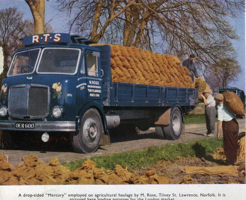 1955-1961 AEC » Mercury MkII ( моdel GM4RA ) with Park Royal j