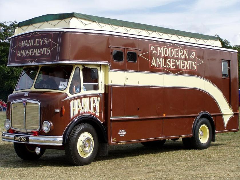 1955-1961 AEC » Mercury MkII ( моdel GM4RA ) with Park Royal k