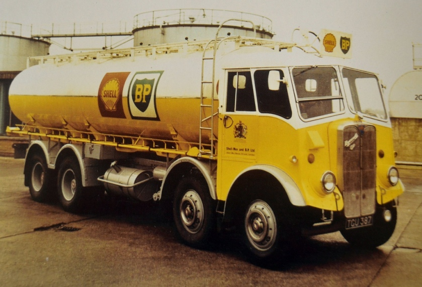 1955 AEC Mammoth Major Mk 3 Tanker