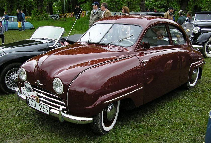 1955 Saab 92B