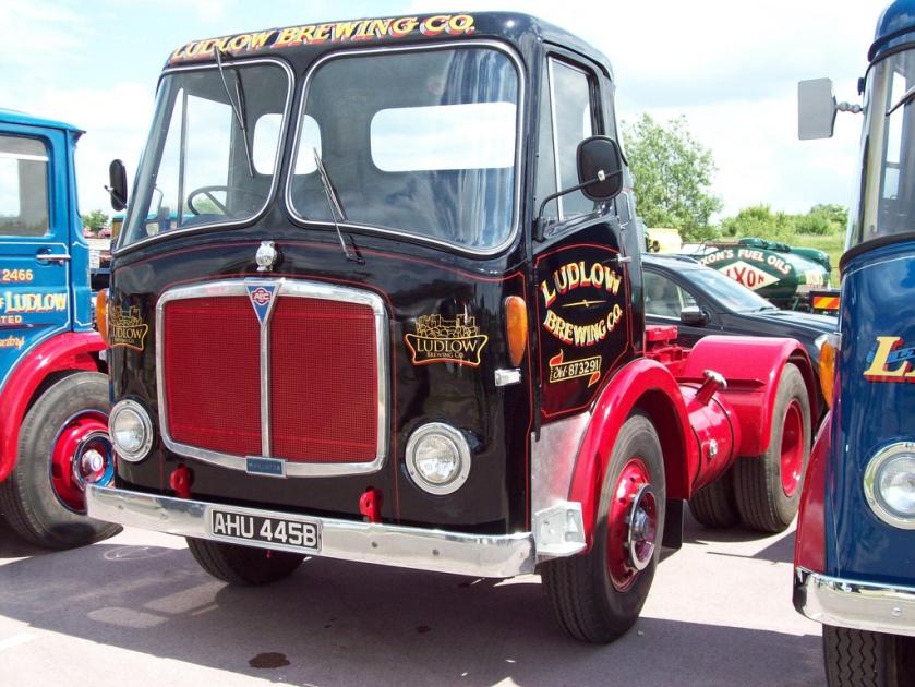 1956 AEC Mandator Tractor Reg.No. AHU 445 B