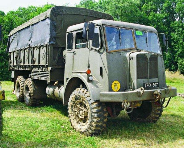 1956 AEC Militant О860 Mk-I (FV-11018), 6x6