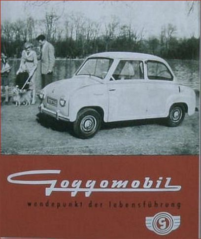 1956 goggomobil