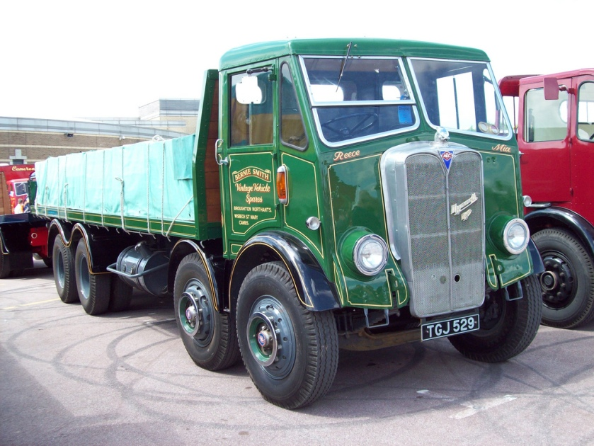 1957 AEC Mammoth Major III Flatbed Engine 9600cc Reg.No. TGJ 529