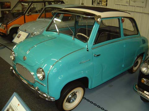 1958 Glas Goggomobil T-250 Sedan sunroof (D)