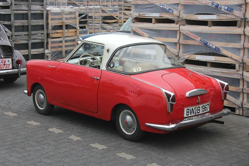 1958 Goggomobil Coupé back-side