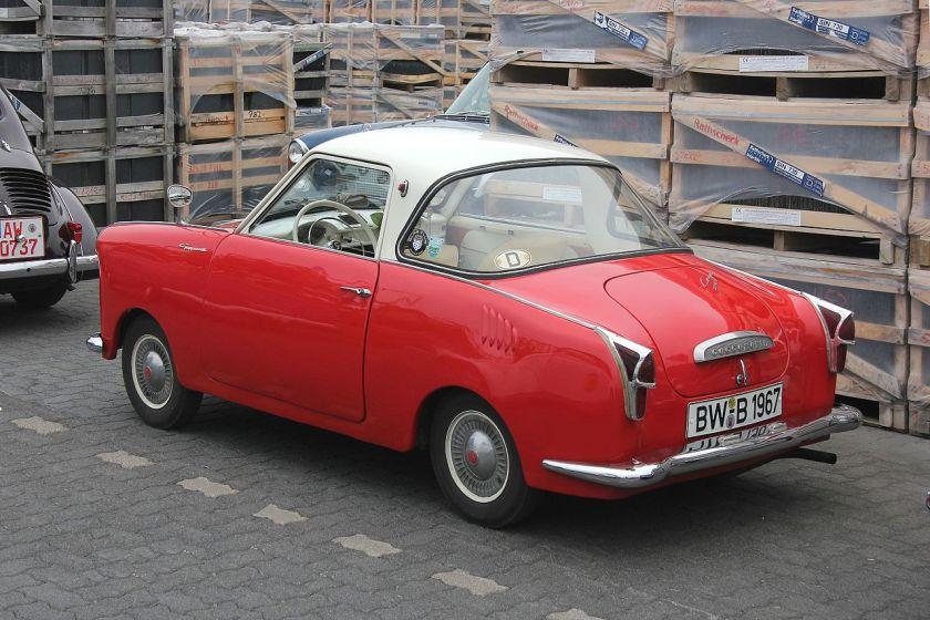 1958 Goggomobil Coupé back-side