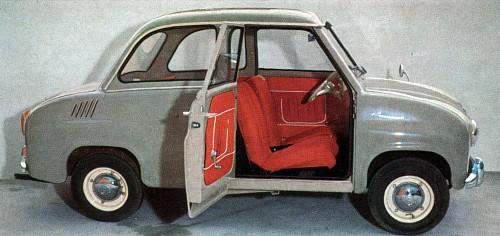 1958 goggomobil t300 sedan