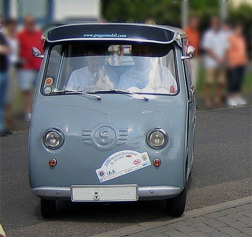 1958 Goggomobil Transporter van