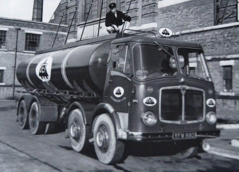 1960 AEC Mammoth Major Mk 5 Jet Tanker