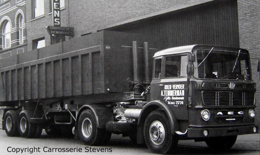 1960 AEC mandator België tg4 1