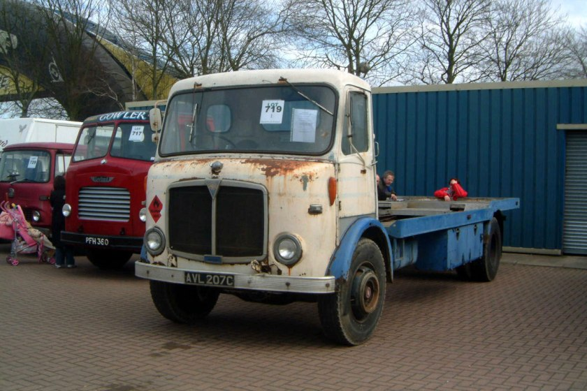 1961-1965 AEC » Mercury MkII ( model GM4RA ) with Park Royal 2 c