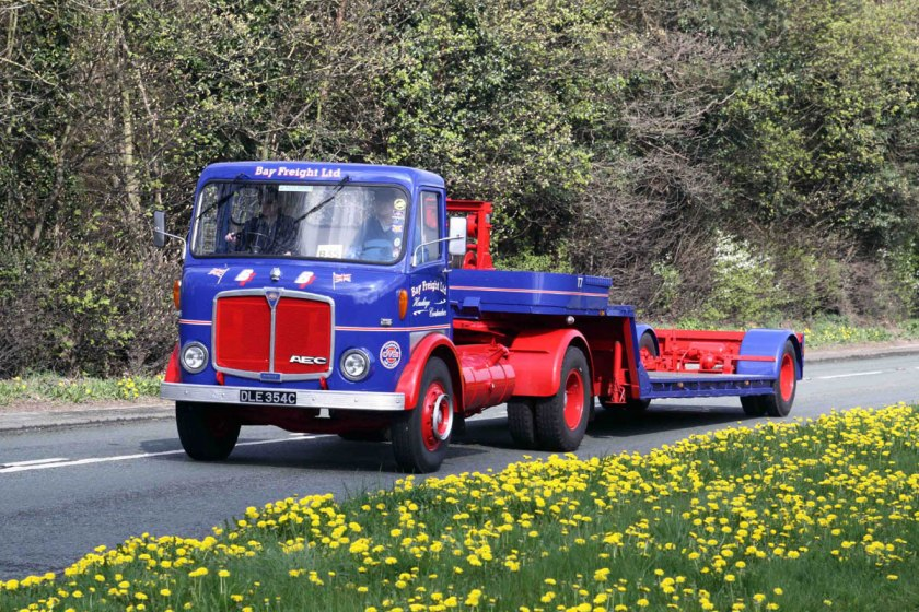 1961-1965 AEC » Mercury MkII ( model GM4RA ) with Park Royal 2 e