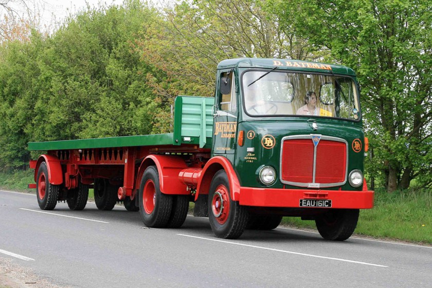 1961-1965 AEC » Mercury MkII ( model GM4RA ) with Park Royal 2 g