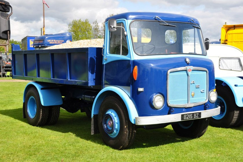 1961-1965 AEC » Mercury MkII ( model GM4RA ) with Park Royal 2 h