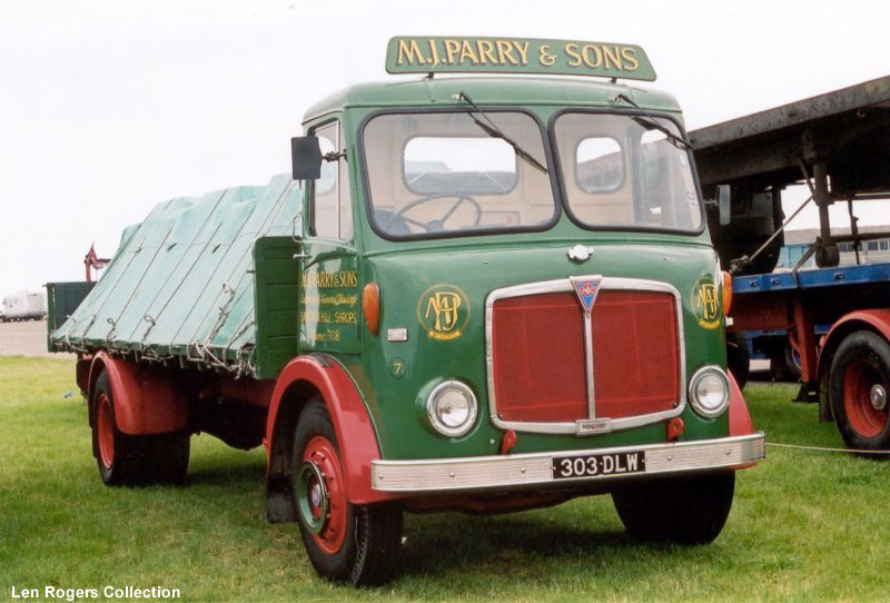 1961-1965 AEC » Mercury MkII ( model GM4RA ) with Park Royal 2 i