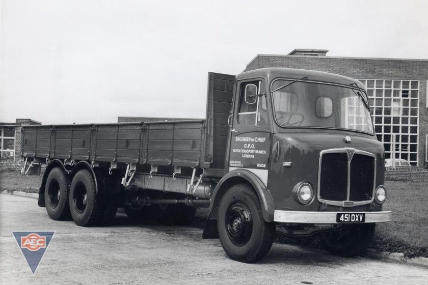 1961-1966 AEC » Marshal ( model GM6RA ) a