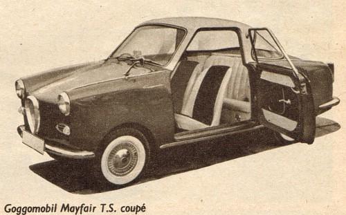 1961 goggomobil coupe
