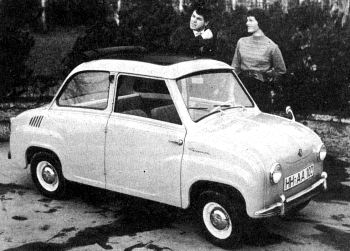 1961 goggomobil sedan