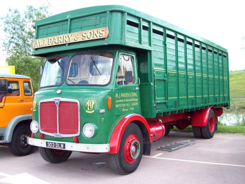 1962 AEC Mercury Livestock Transporter Reg.No. 303 DLW