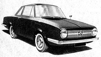 1962 glas isar 1004 coupe