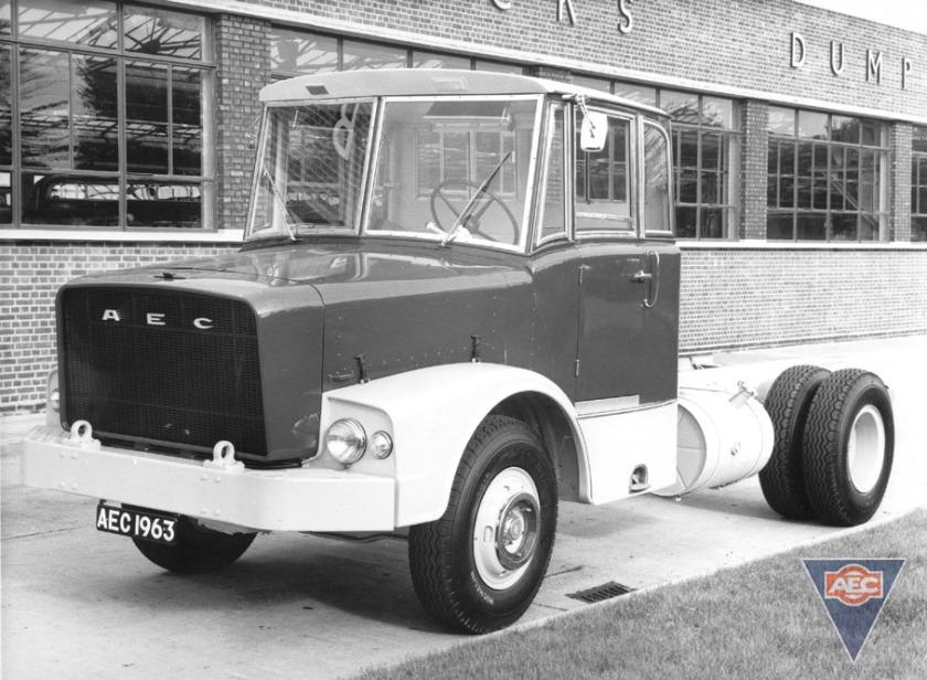 1963 AEC mogul majestic gb4la 1