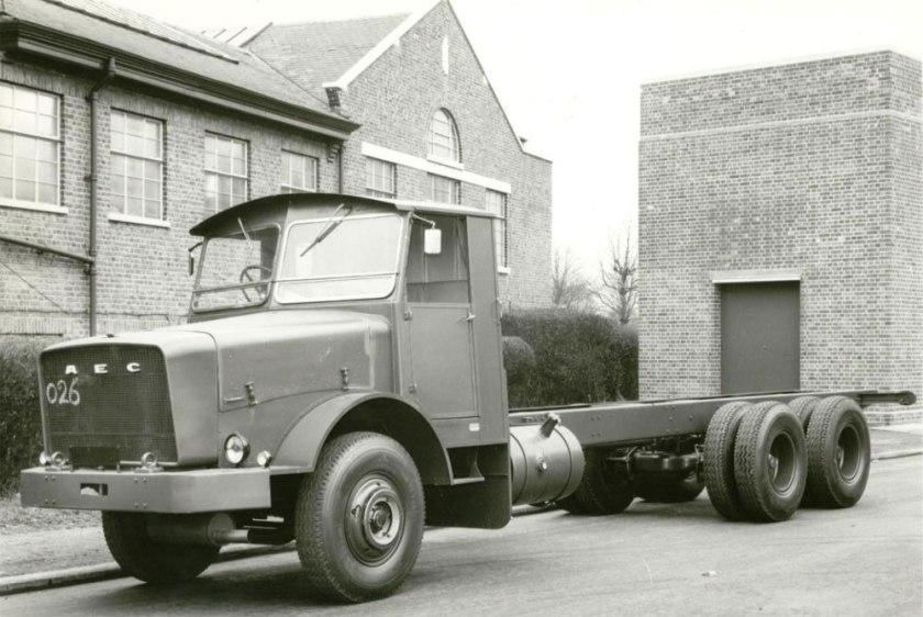 1963 AEC mogul majestic gb4la 11