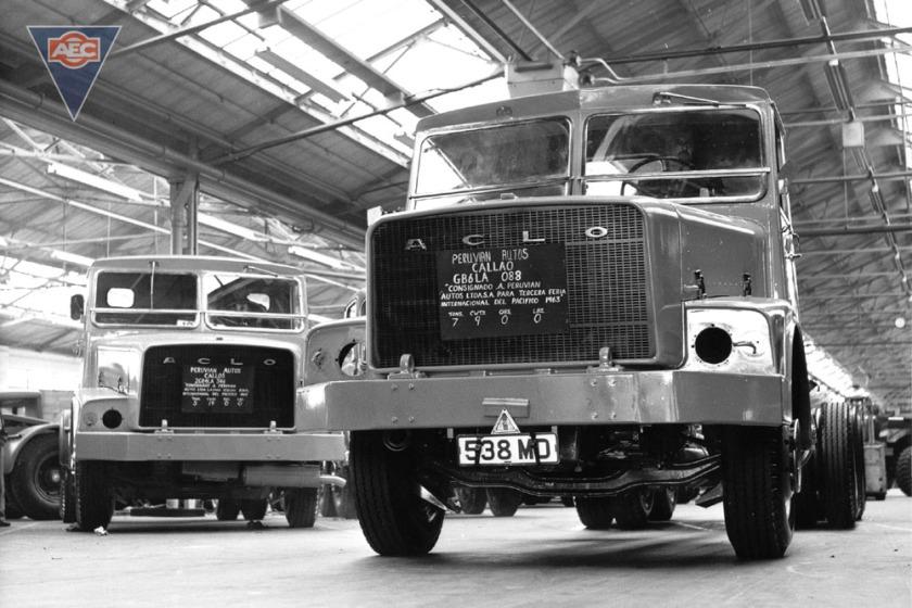 1963 AEC mogul majestic gb4la 12