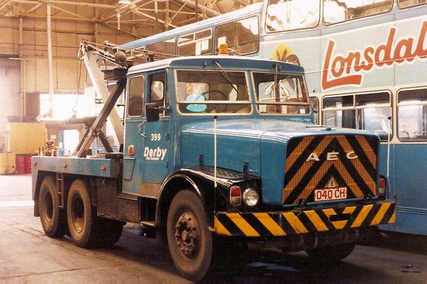 1963 AEC mogul majestic gb4la 13