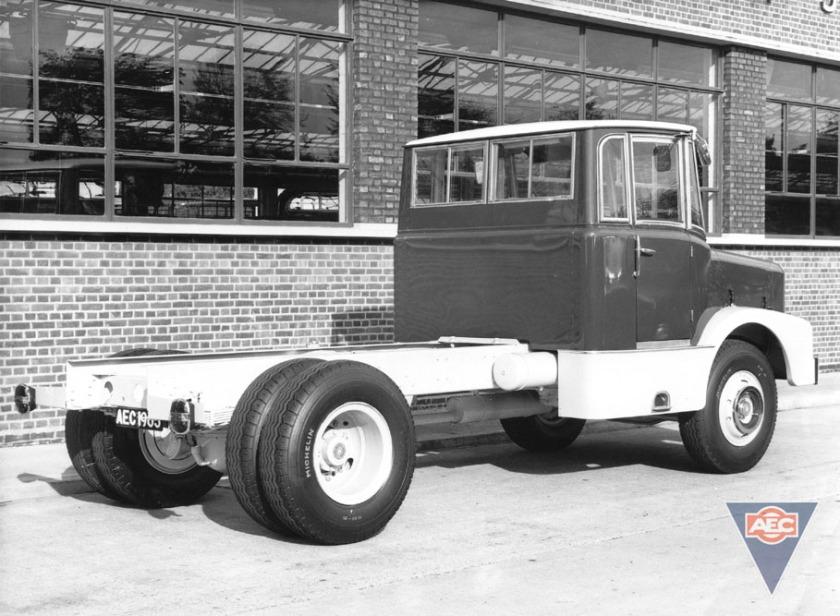 1963 AEC mogul majestic gb4la 2