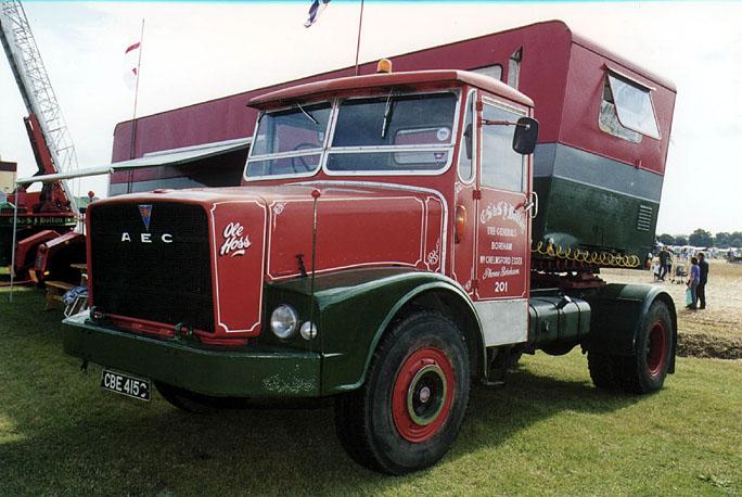 1963 AEC mogul majestic gb4la 5