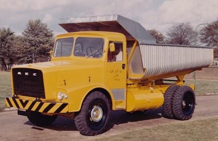 1963 AEC mogul majestic gb4la 6