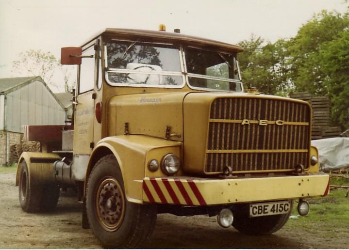 1963 AEC mogul majestic gb4la 8