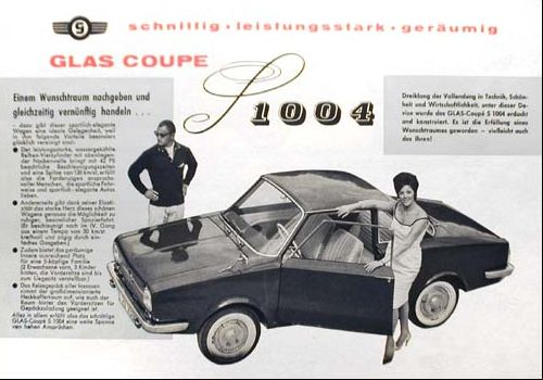 1963 glas 1004s coupe