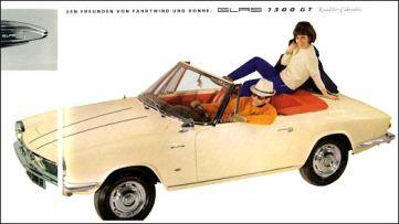 1963 glas 1300gt cabrio