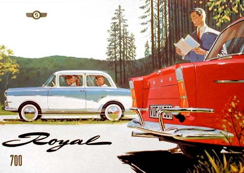 1963 glas isar t600