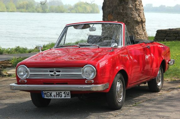 1964 Glas 1204 Cabrio red