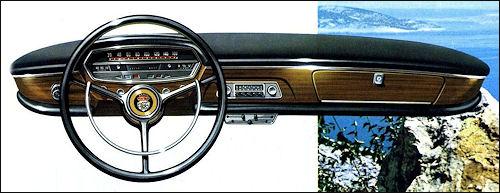1964 Glas 1700 dashboard 0809
