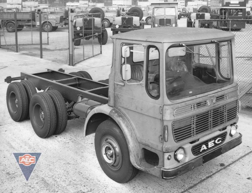 1965-1977 AEC » Marshal - Marshal 8 ( model TGM6 - TGM8 ) a