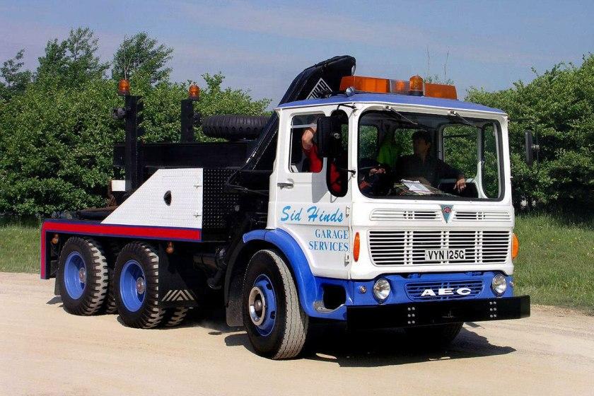 1965-1977 AEC » Marshal - Marshal 8 ( model TGM6 - TGM8 ) c