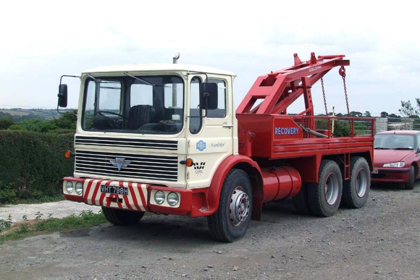 1965-1977 AEC » Marshal - Marshal 8 ( model TGM6 - TGM8 ) d