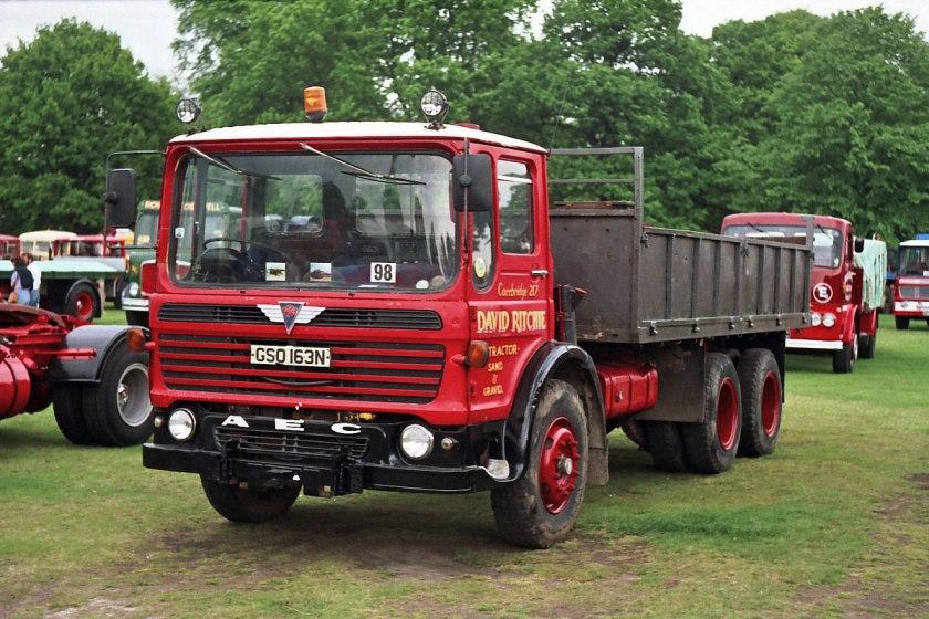 1965-1977 AEC » Marshal - Marshal 8 ( model TGM6 - TGM8 ) h