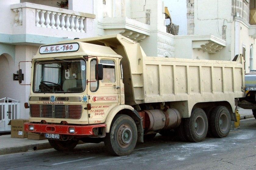 1965-1977 AEC » Marshal - Marshal 8 ( model TGM6 - TGM8 ) i