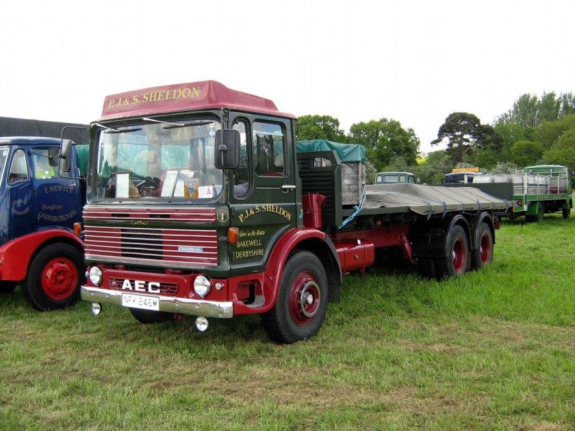 1965-1977 AEC » Marshal - Marshal 8 ( model TGM6 - TGM8 ) m