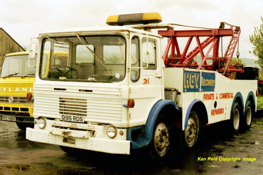 1965-1978 AEC » Mammoth Minor - Major 6-8 ( model TG6 - TG8 ) o