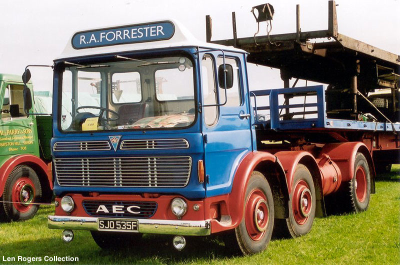 1965-1978 AEC » Mammoth Minor - Major 6-8 ( model TG6 - TG8 ) z