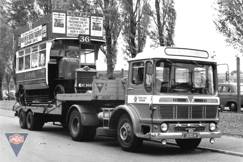1965-1978 AEC » Mandator ( model TG4 ) a